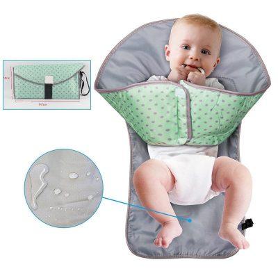 Baby aankleedkussen