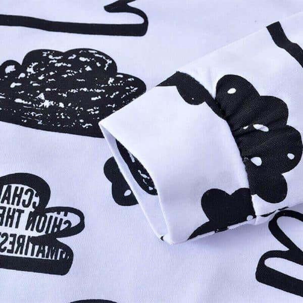 3 Baby Boy Kleding 2020 Herfst Baby Meisje Kleding Sets Pasgeboren Katoen Gedrukt Lange Mouwen T shirt