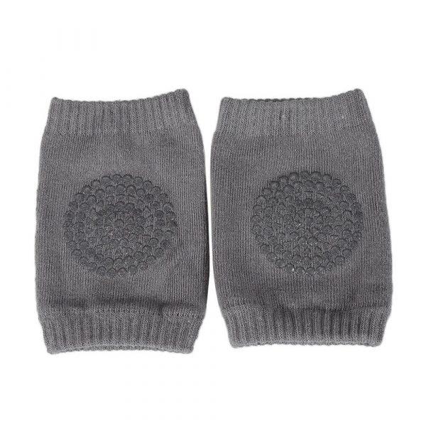 Kniebeschermer donker grijs