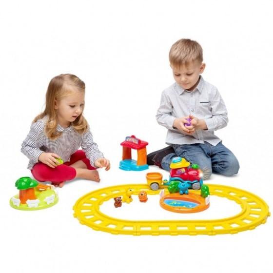 chicco elektrische trein adventure junior geel 6 delig 2 379868 1586414038
