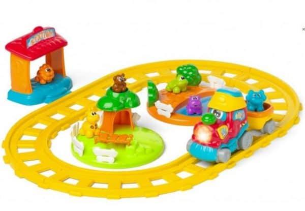 chicco elektrische trein adventure junior geel 6 delig 379868 1586414037