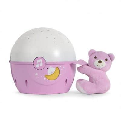 chicco projector next 2 stars meisjes 22 cm roze wit 379217 1586333332