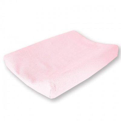 cottonbaby aankleedkussenhoes wafel 48 x 72 cm roze 348511 1577975420