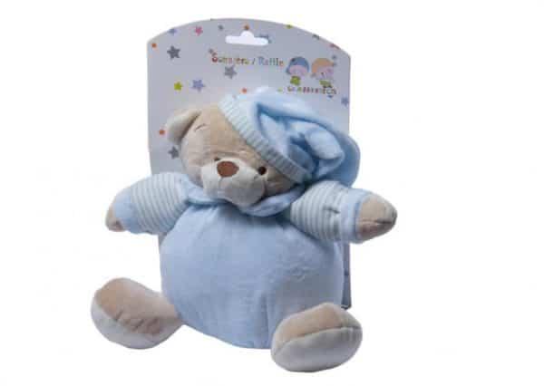 gamberritos rammelaar beer 20 cm blauw 354951 1579610865