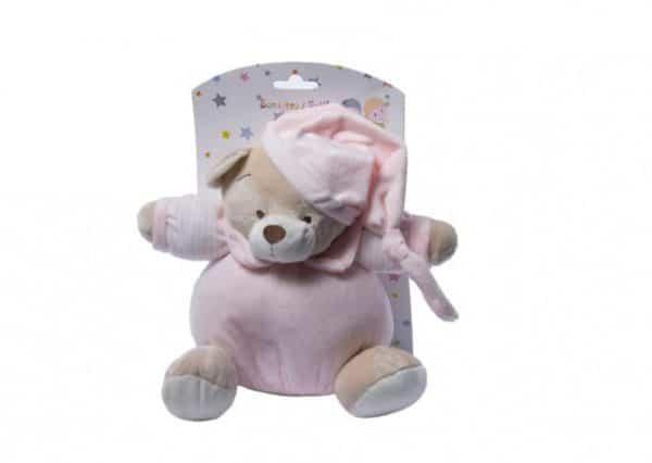 gamberritos rammelaar beer 20 cm roze 354954 1579610953