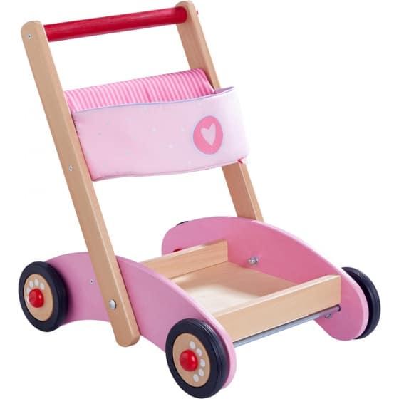 haba loopwagen glittering 47 cm roze 313812 1567065374