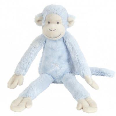 happy horse knuffelaap blauw 32x43 cm 345396 1576760484