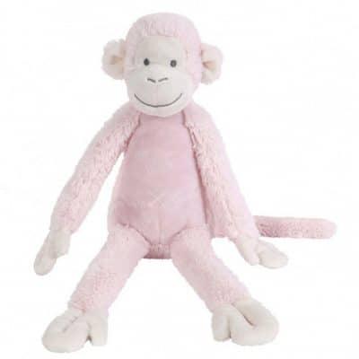 happy horse knuffelaap roze 32x43 cm 345388 1576759616