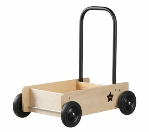 kids concept houten loopwagen neo 45 cm zwart 353614 1579252291