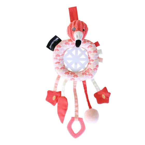 les deglingos dromenvanger flamingo roze 34 cm 380788 1586503809