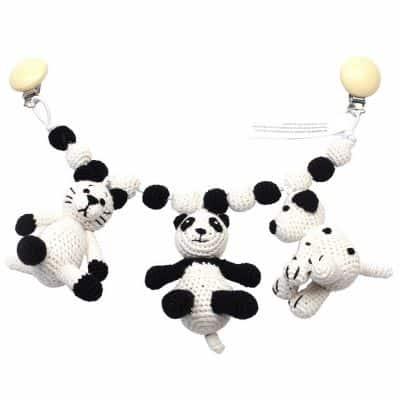 Wagenspanner gehaakt Panda