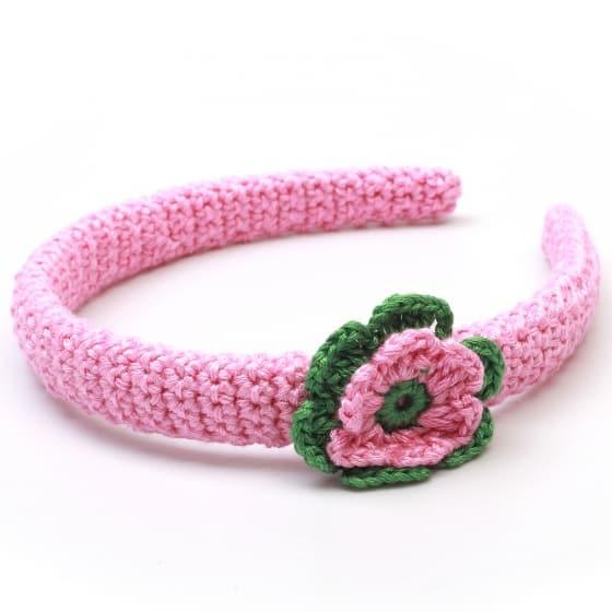 naturezoo haarband bloem roze groen 333439 1573388008