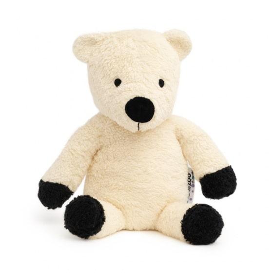 naturezoo knuffeldier ijsbeer biologisch 18 cm wit 345317 1576750215