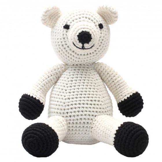 naturezoo knuffeldier ijsbeer gehaakt 20 cm wit 332905 1573200474