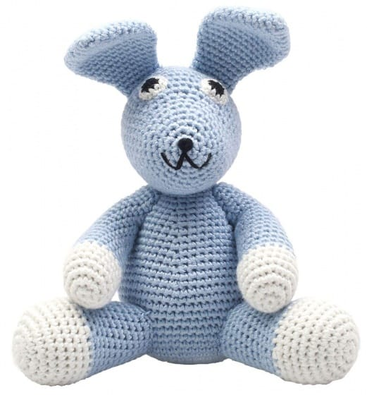naturezoo knuffeldier konijn gehaakt 20 cm blauw 332930 1573202013