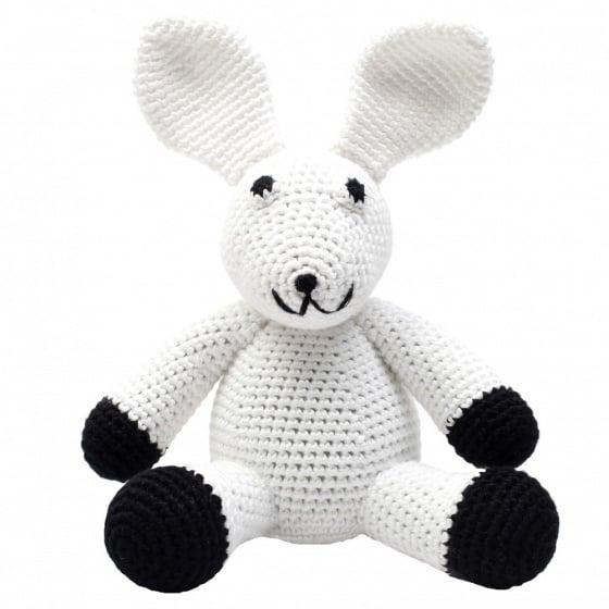 naturezoo knuffeldier konijn gehaakt 20 cm wit 332954 1573203358