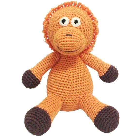 naturezoo knuffeldier orang oetan gehaakt 20 cm oranje 332911 1573200788