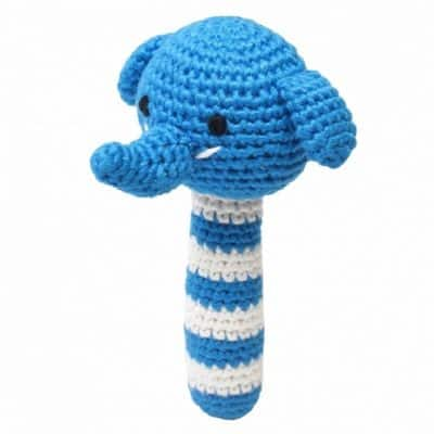 naturezoo rammelaar olifant gehaakt 14 cm blauw 2 332969 1573205769