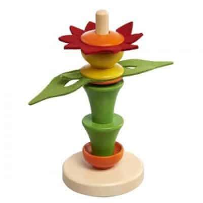 nic stapeltoren bloem hout 17 cm 357722 1580220505