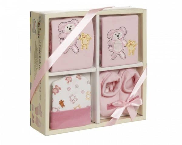 playshoes cadeauset baby roze 4 delig 344289 1576498992