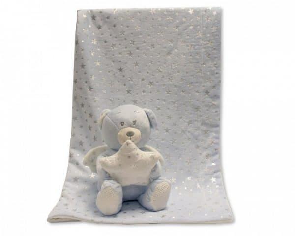 snuggle baby babydeken met knuffel beer lichtblauw set 2 delig 348631 1578036142