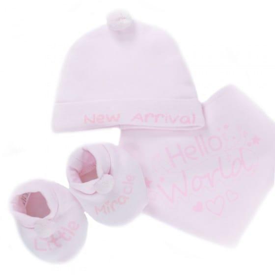 soft touch babysetje met muts 3 delig roze 0 3 maanden 334424 1573651970