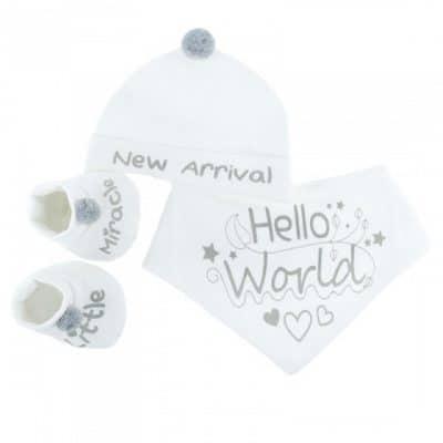 soft touch babysetje met muts 3 delig wit 0 3 maanden 334429 1573652307