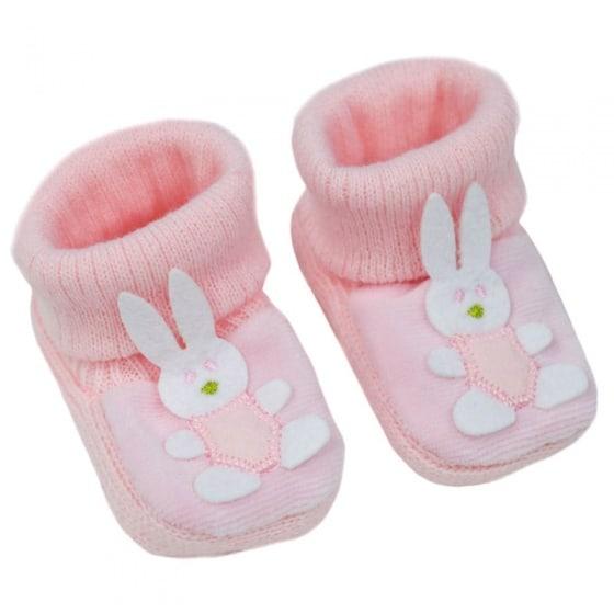 soft touch babyslofjes bunny 0 6 maanden meisjes roze 338528 1574757637