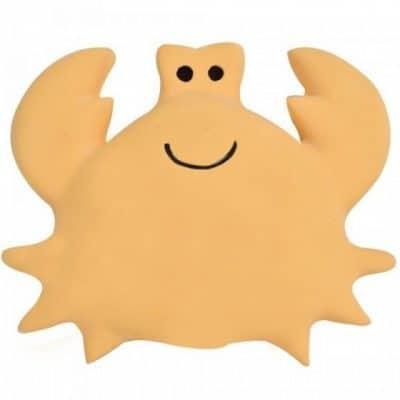 tikiri bijt  en badspeeltje met rammelaar krab 10 cm oranje 327575 1572011906