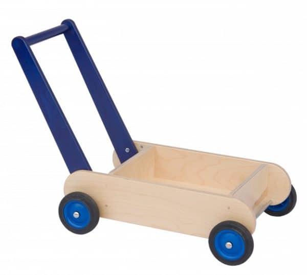 van dijk toys blokkenduwwagen 55 cm blauw 309445 1565341926