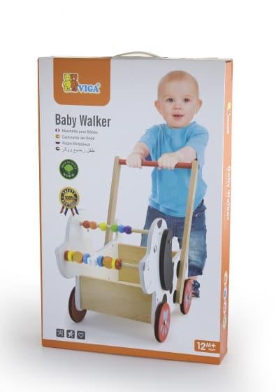 viga toys babywalker hond 47 cm wit zwart 2 326087 1571751084