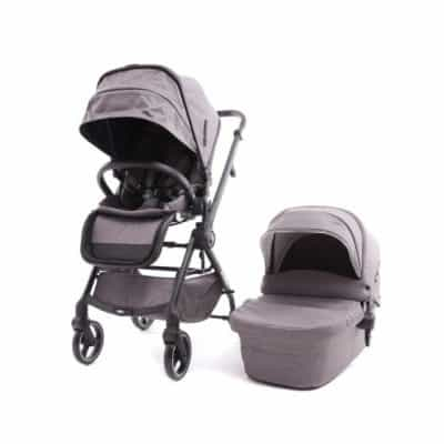 baby monsters kinderwagen met reiswieg marla duo taupe 348961 1578063785