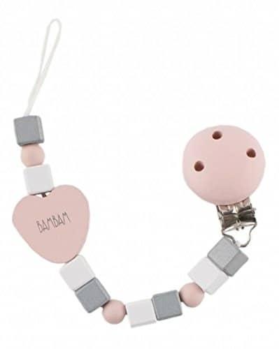 bambam fopspeenketting pacifier junior 23 cm roze 356394 1579855527