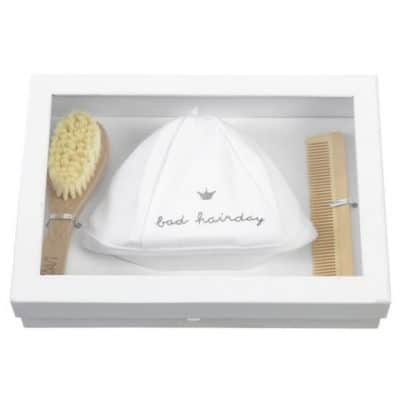 bambam giftbox bad hairday met muts junior blank wit 3 delig 357326 1580135842