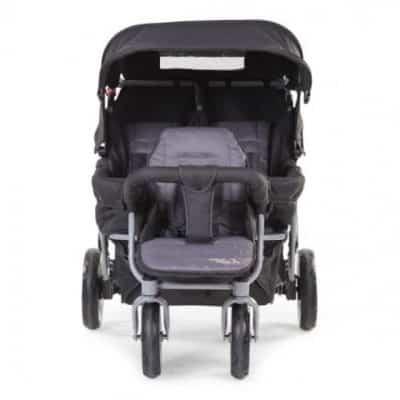 childhome meerlingwagen triplet autobrake 3 plaatsen zwart 2 309001 1565183095