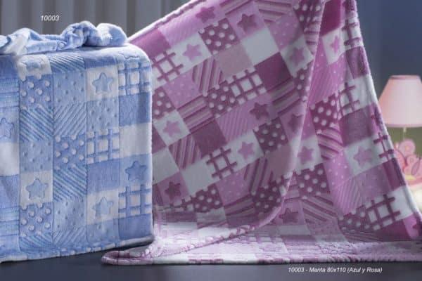 gamberritos babydeken 10003a fleece 80 x 110 cm blauw 2 361781 1581330529 1