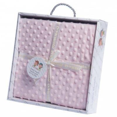gamberritos babydeken 110 x 140 cm roze 353799 1579264412