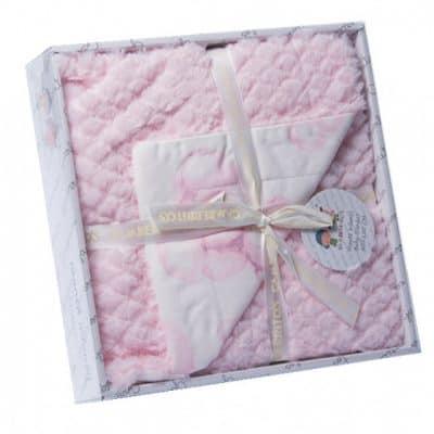 gamberritos babydeken beren 110 x 140 cm roze 384297 1587040717