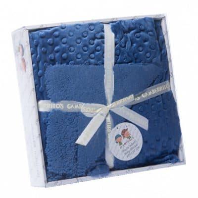 gamberritos babydeken fleece 80 x 110 cm donkerblauw 353849 1579268094