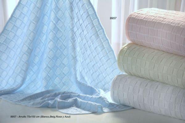 gamberritos babydeken gebreid 75 x 100 cm blauw 2 361718 1581325942 2