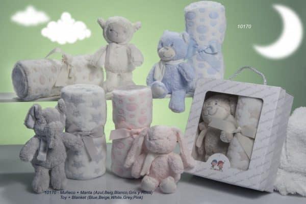 gamberritos babydeken gestipt met knuffel 80 x 110 cm fleece beige 2 365319 20200226134603 1