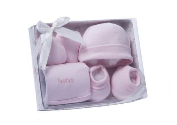 gamberritos babykledingset meisjes roze one size 359581 1580806576