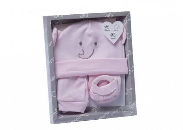 gamberritos babykledingset smile meisjes roze 5 delig one size 367447 1583397941