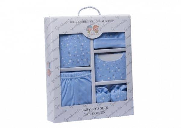 gamberritos babykledingset sterren blauw one size 5 delig 359849 1580827567
