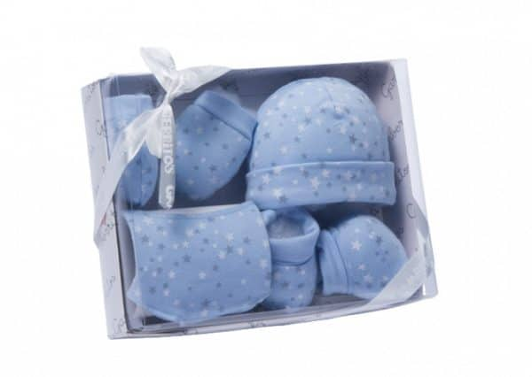 gamberritos babykledingset sterren jongens blauw one size 359671 1580813118