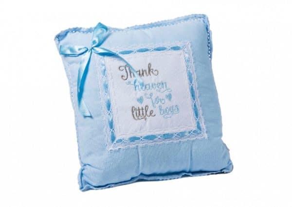 gamberritos decoratiekussen thank heaven 30 cm blauw 365328 1582722261