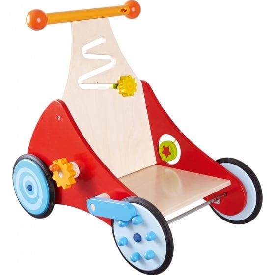 haba houten loopwagen rood blauw 49 cm 313559 1566984097