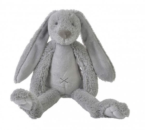 happy horse knuffel konijn richie pluche junior 38 cm grijs 345721 1576839877