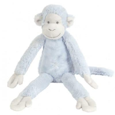 happy horse knuffelaap blauw 43 cm 345398 1576760662