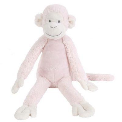 happy horse knuffelaap roze 43 cm 345393 1576760003